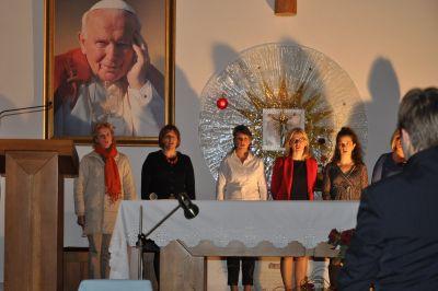 2011 10 23 wystawienie sztuki karola wojtyły santo subito